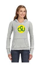CSU Rams Ladies Grey Old School Zen Hoodie